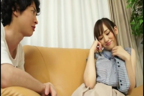 JAPANESE MOM AND SON MASTURBATING TOGETHER
