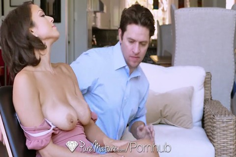 PUREMATURE ROMANTIC ANAL FUCK WITH BUSTY MILF BROOKE SINCLAIRE